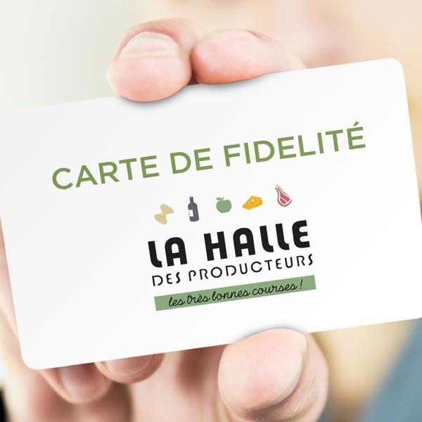 carte fidélité la halle Carte fidélité | La Halle des producteurs